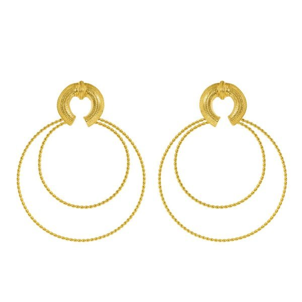 Bahia Hoops Earrings