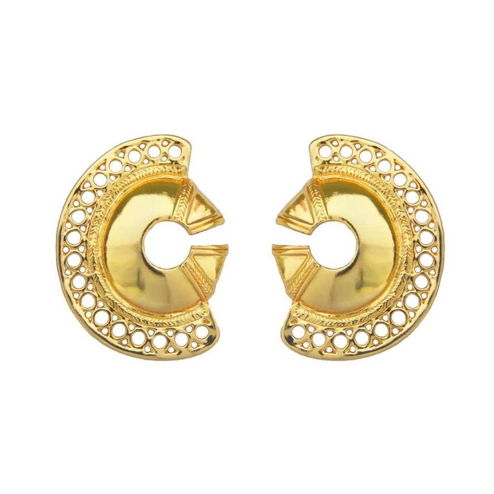 Calamari Earrings