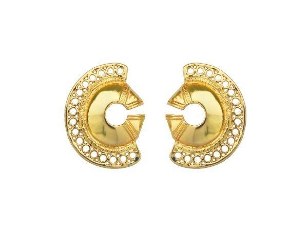 Calamari Earrings