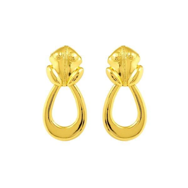 El Dorado Hoops Earrings