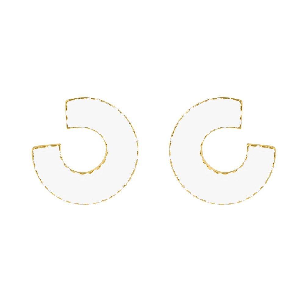 Indonesia White Earrings