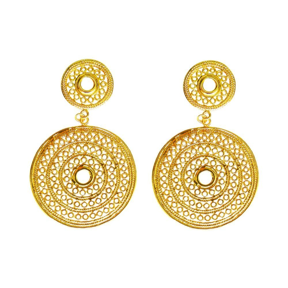 Macondo Gold Earrings