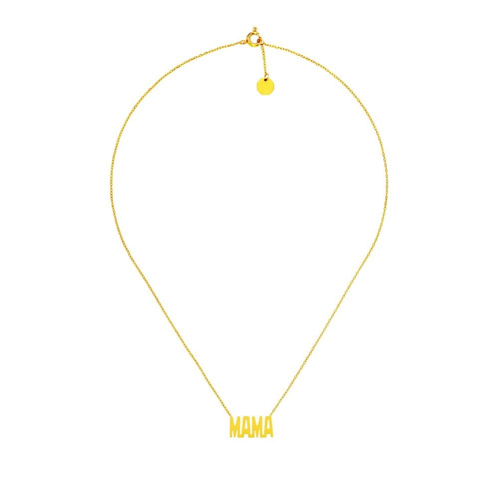 Mama Necklace Gold