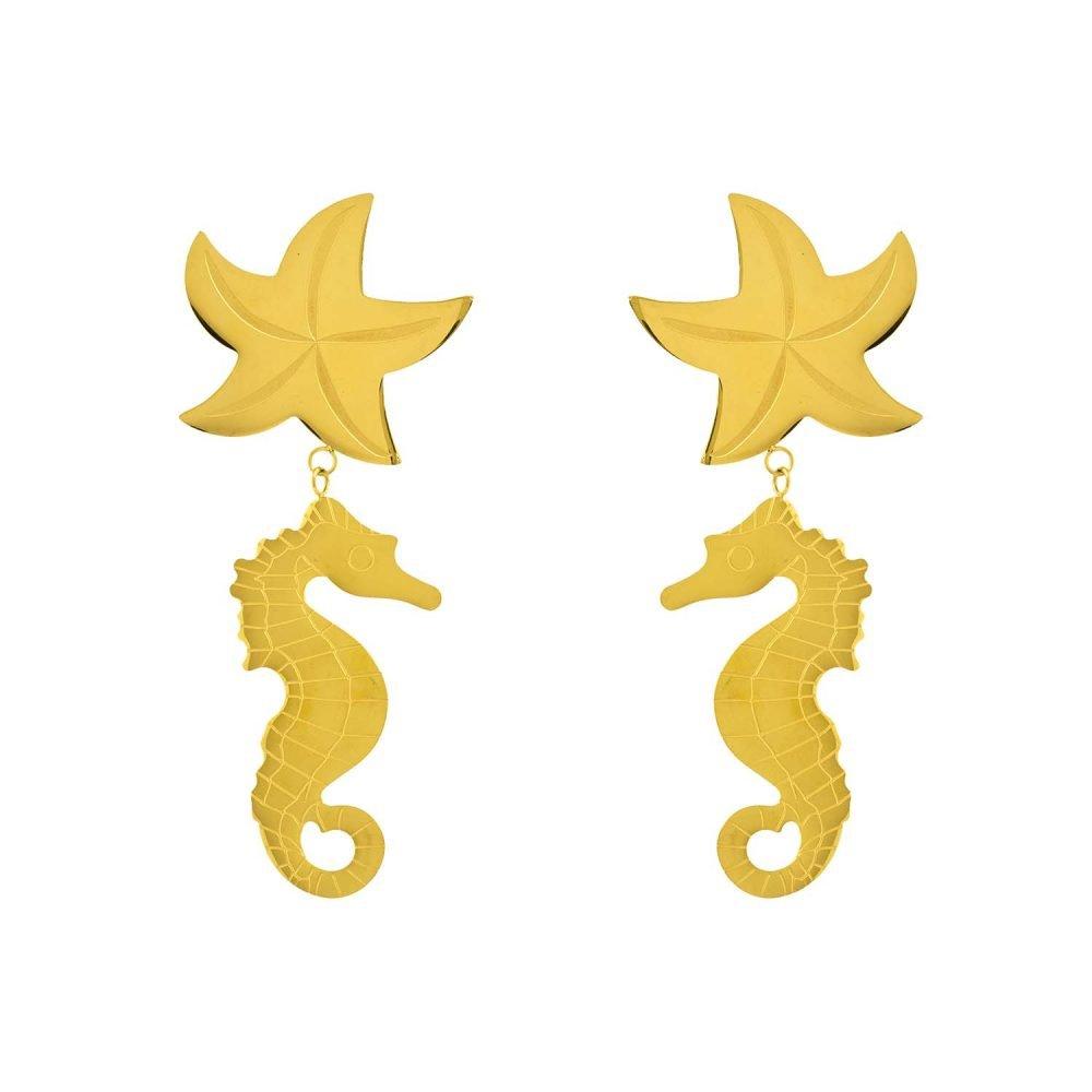 Maxi Seahorse Earrings