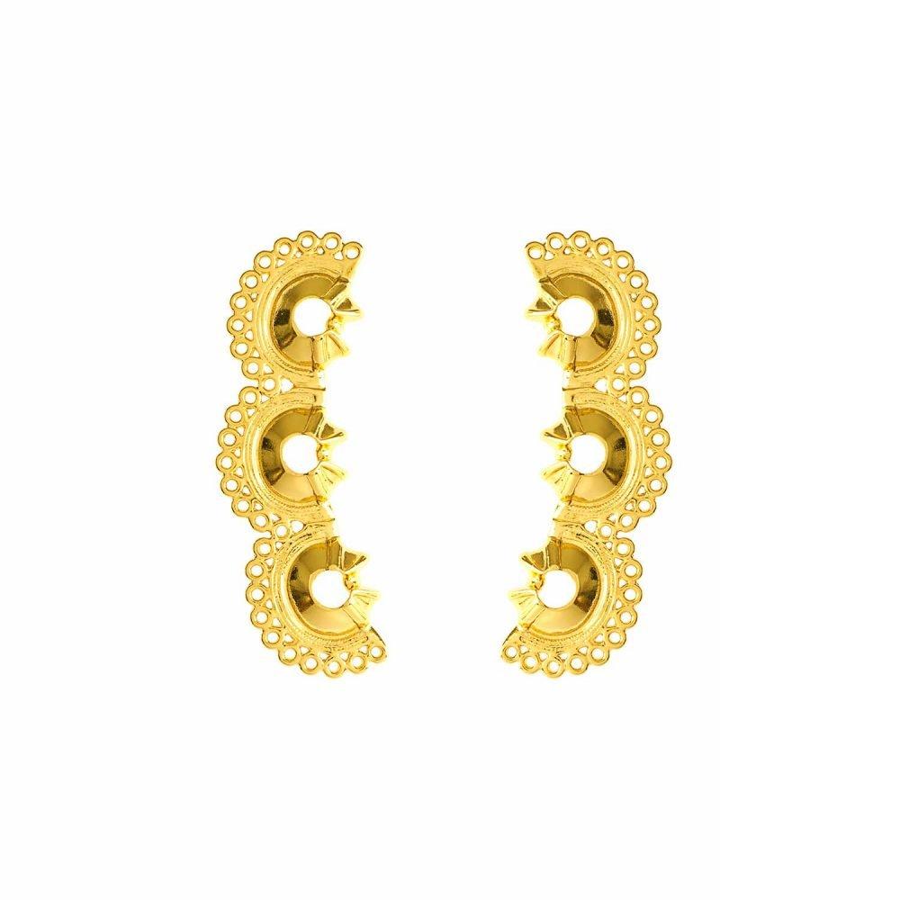 Mini Calamari Earrings