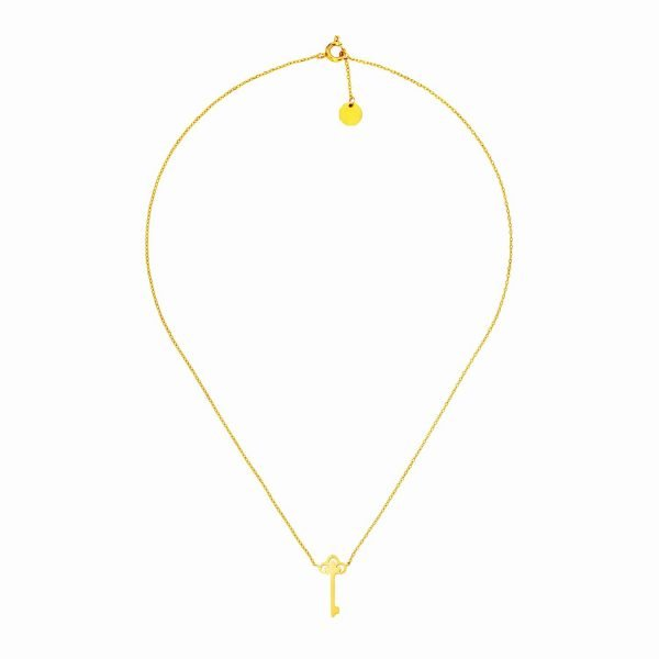 Key Necklace Gold