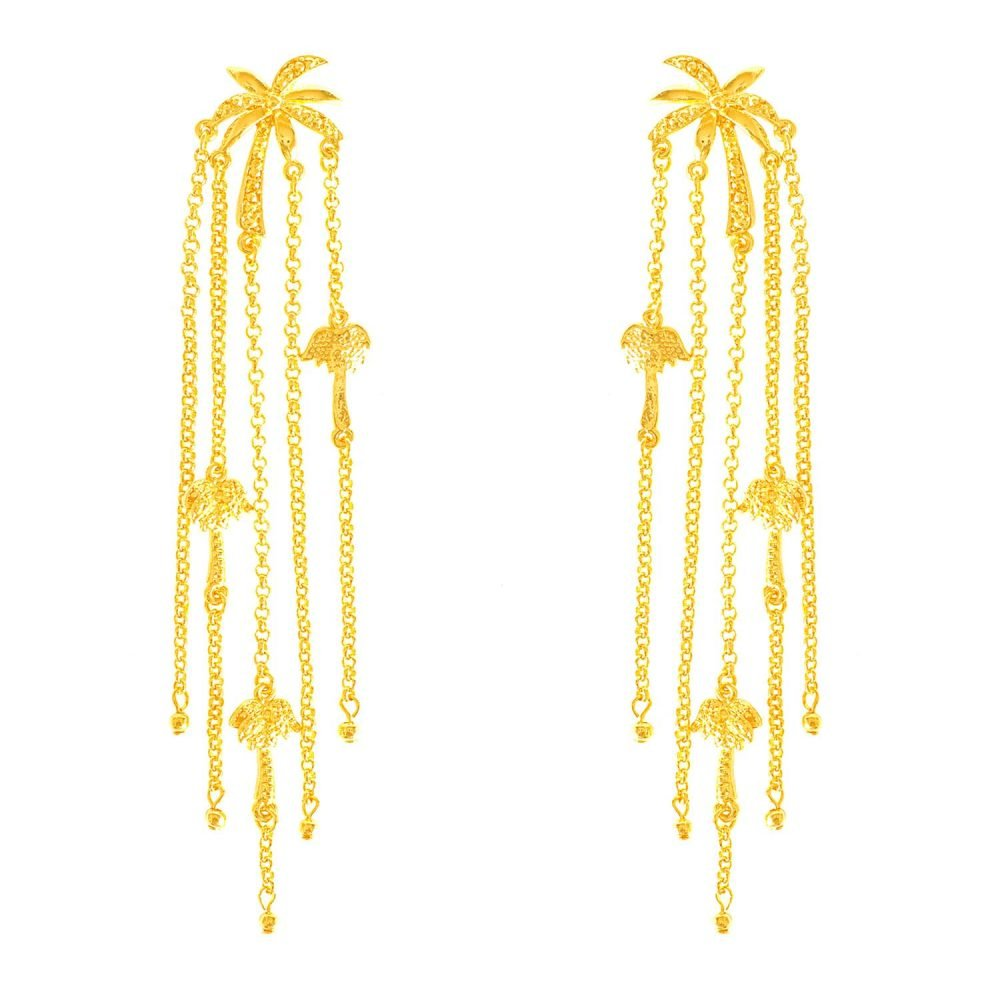Palma Chains Earrings