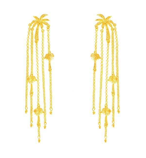 Palma Chains Earrings