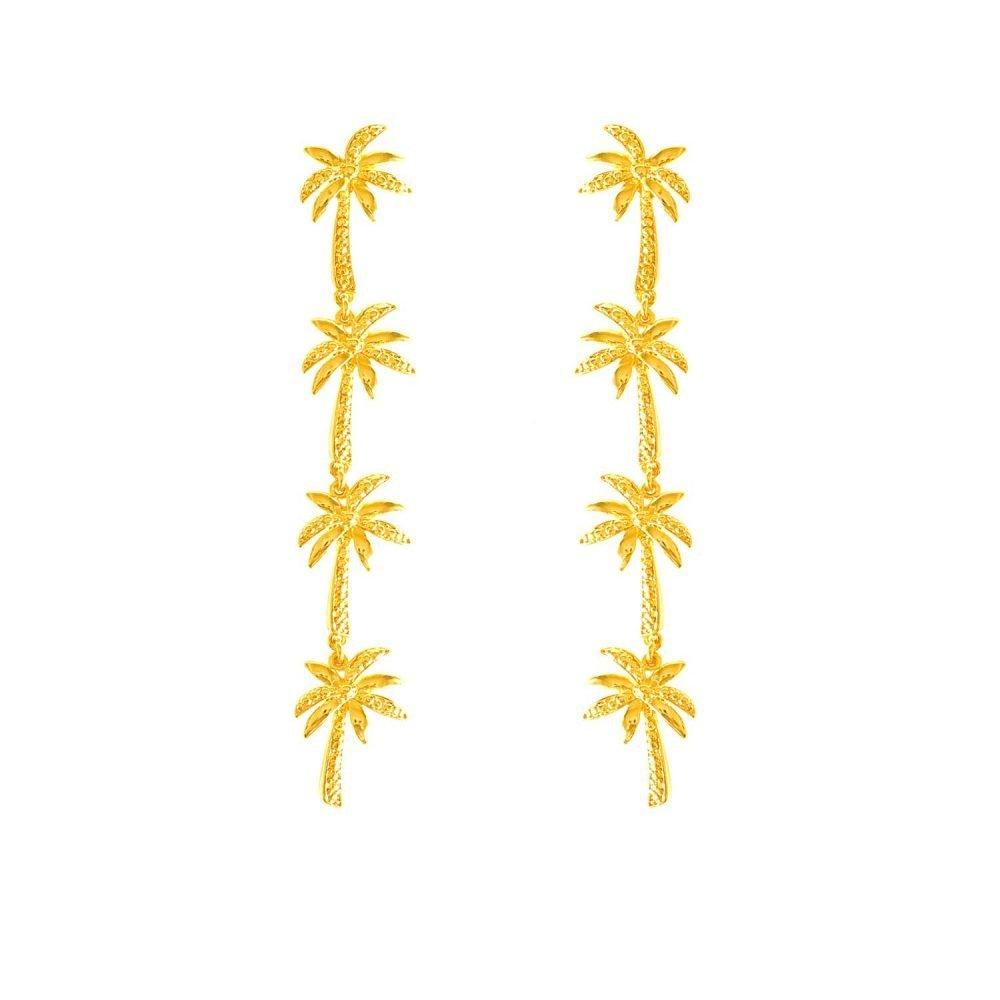 Palma Long Earrings