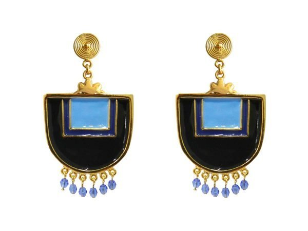 Santo Domingo Blue Earrings