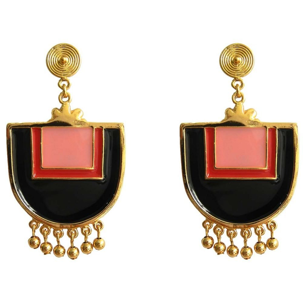 Santo Domingo Red Earrings
